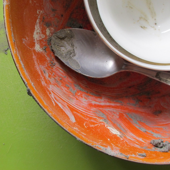 Etape 18 : après un brin de vaisselle...
