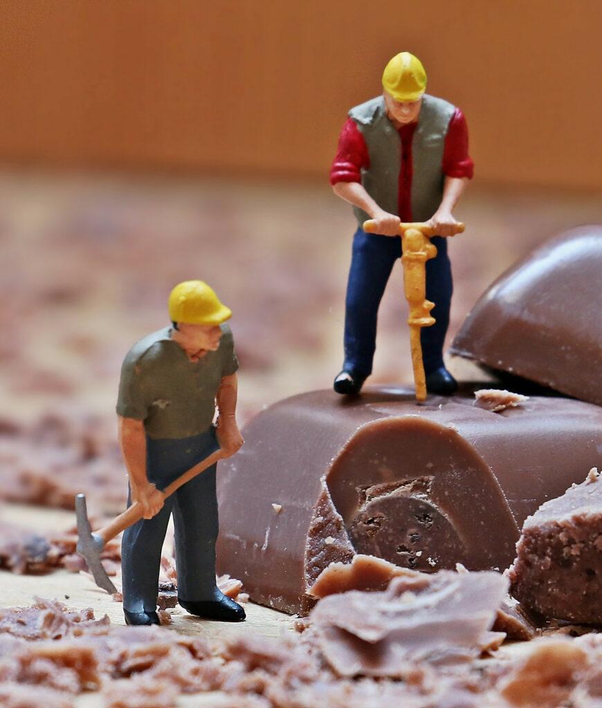 Chocolat industriel